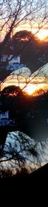 ice sunset walk